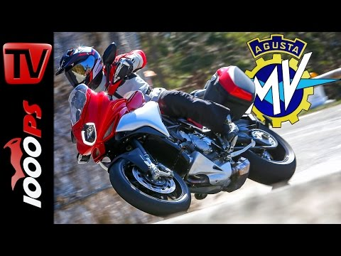 2015 MV Agusta Turismo Veloce 800 Test | Action, Sound, Fazit