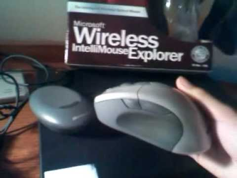 68a5209feb8 Microsoft intelliMouse Wireless Explorer laser mouse review: - YouTube