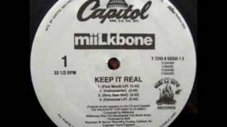 Miilkbone - Keep It Real Instrumental