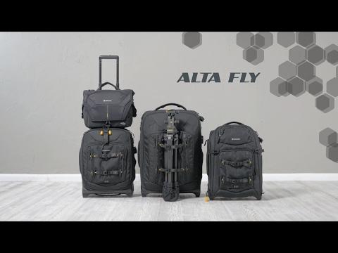 77fc757d2 Vanguard Alta Fly 58T Roller Bag (Black) ALTA FLY 58T B&H Photo