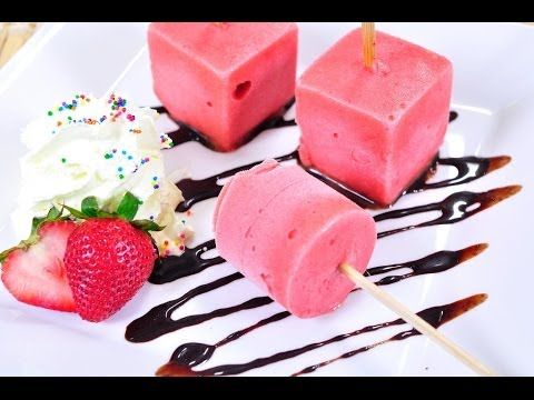 สตรอเบอร์รี่ซอร์เบท์ Strawberry Sorbet