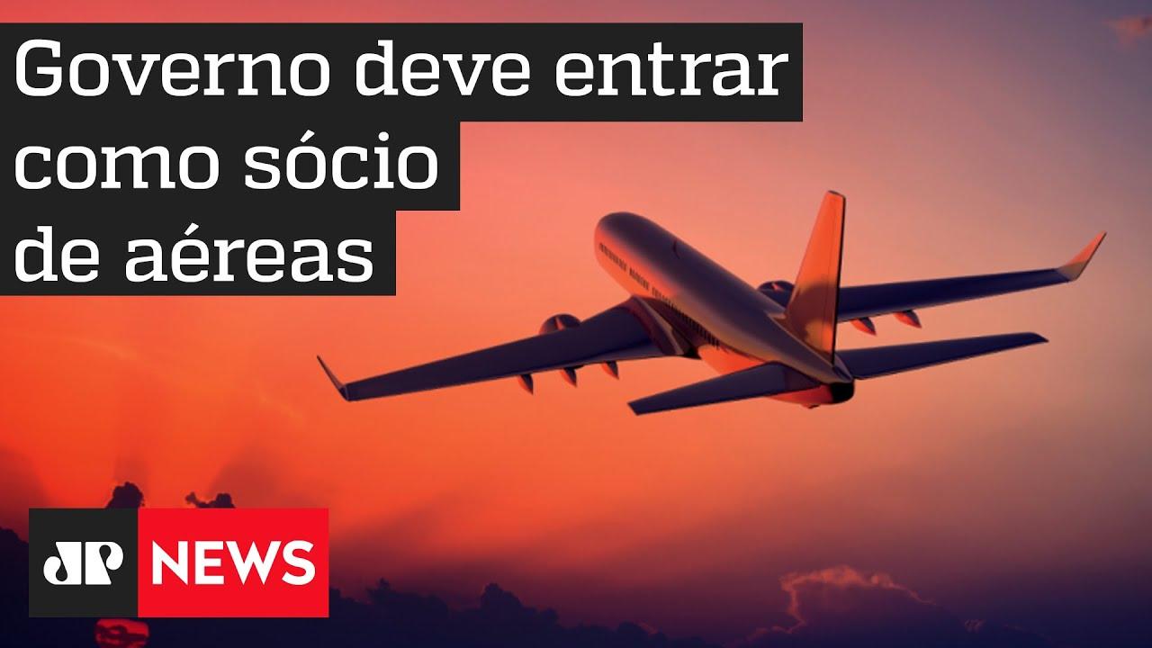 Para salvar setor, governo será 'sócio' de empresas aéreas, diz Guedes