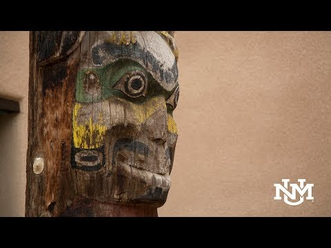 The University of New Mexico—Totem Pole