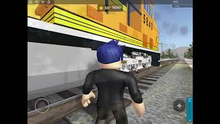 Affton Mo Railfanning in Roblox