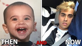 Darius Dobre AND Wengie AND Cyrus Dobre ( Famous Stars before they Famous)  - Then AND Now