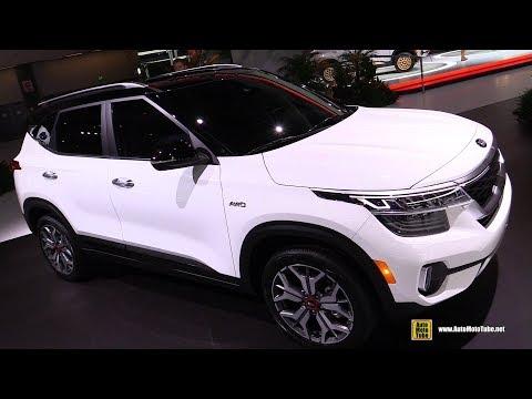 2020 KIA Seltos SX T-GDI - Exterior Interior Walkaround - Debut At 2019 LA Auto Show