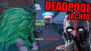 VYHRAL Som Na DEADPOOL Jachte? - Fortnite