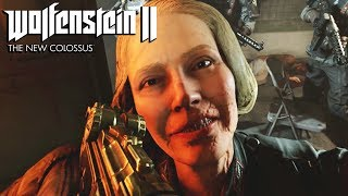 Wolfenstein 2 The New Colossus All Irene Engel Cutscenes