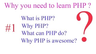 PHP#1-Why do you need to learn PHP? Mp3