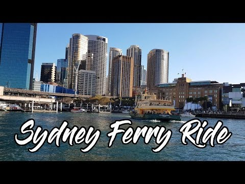 Sydney Harbour View - Ferry Ride From Barangaroo To Circular Quay - Captain Cook Cruises Sydney
