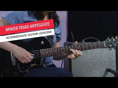How to Play Guitar: Minor Arpeggios   Intermediate   Guitar Lessons