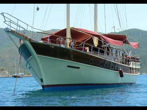 Charter gulet Zabir P in Turkey.wmv