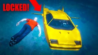 I KICKED HIM OUT OF MY CAR WHILE UNDERWATER! *HILARIOUS!* | GTA 5 THUG LIFE #216