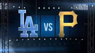 8/9/15: Pirates ride nine-run 7th to sweep of Dodgers