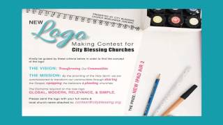 Kontes pembuatan Logo Gereja-Gereja City Blessing