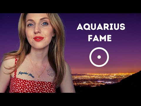 5 Ways An AQUARIUS Becomes FAMOUS! (Aquarius Sun) | Hannah's Elsewhere