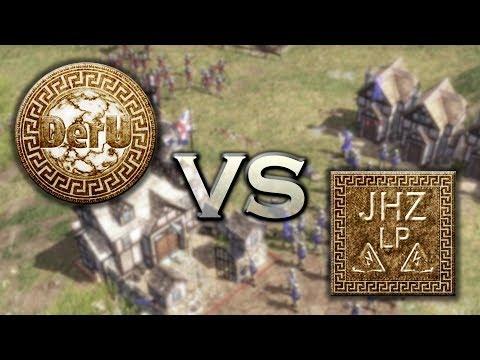Let's Battle Together Age Of Empires III - 100/Special - DerU Vs Java