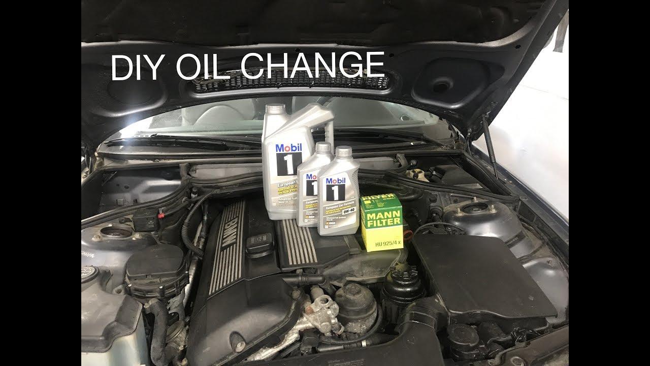 BMW e46 oil change DIY