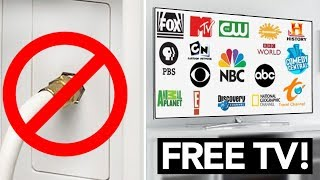 How to get FREE HDTV channels - CUT THE CORD!