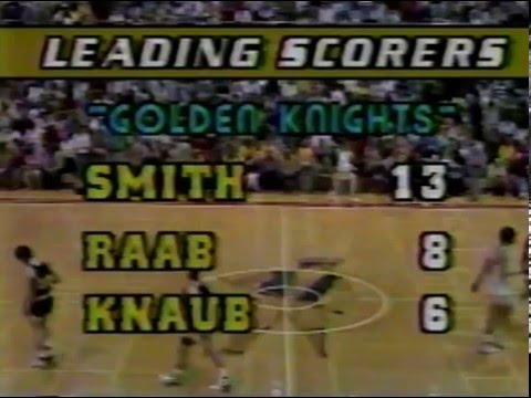 Eastern York High School   Boys Basketball vs Annville Cleona   District III Semi Final   3 9 1988