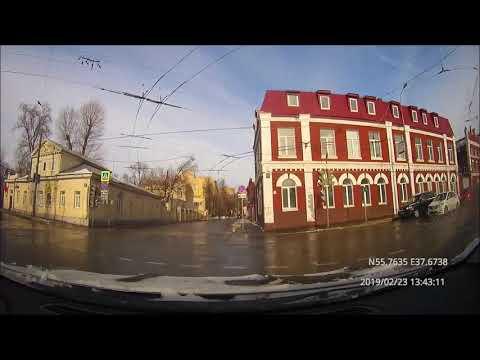Driving In Moscow City: Текстильщики - Басманный - Красносельский - Беговой 23/02/2019 (4x)