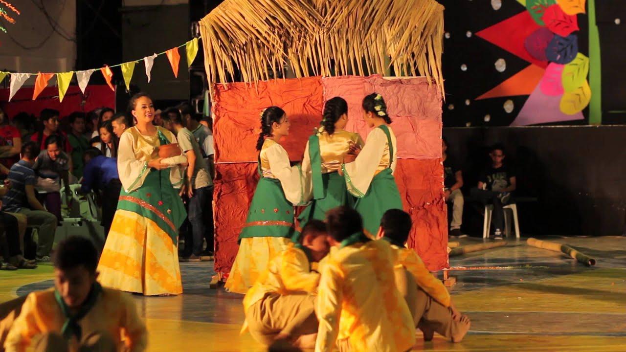 Nddu U Week Cas Folk Dance Barrio Fiesta Youtube