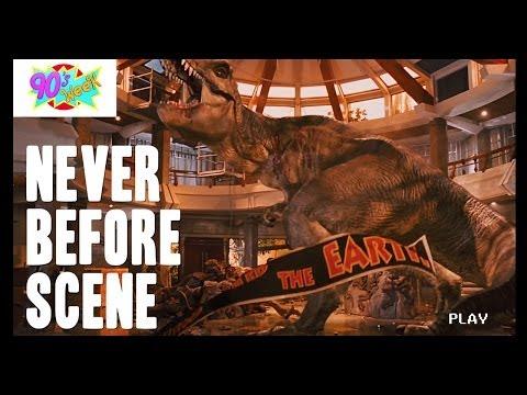 Long Lost Scenes From Jurassic Park?! - Never Before Scene
