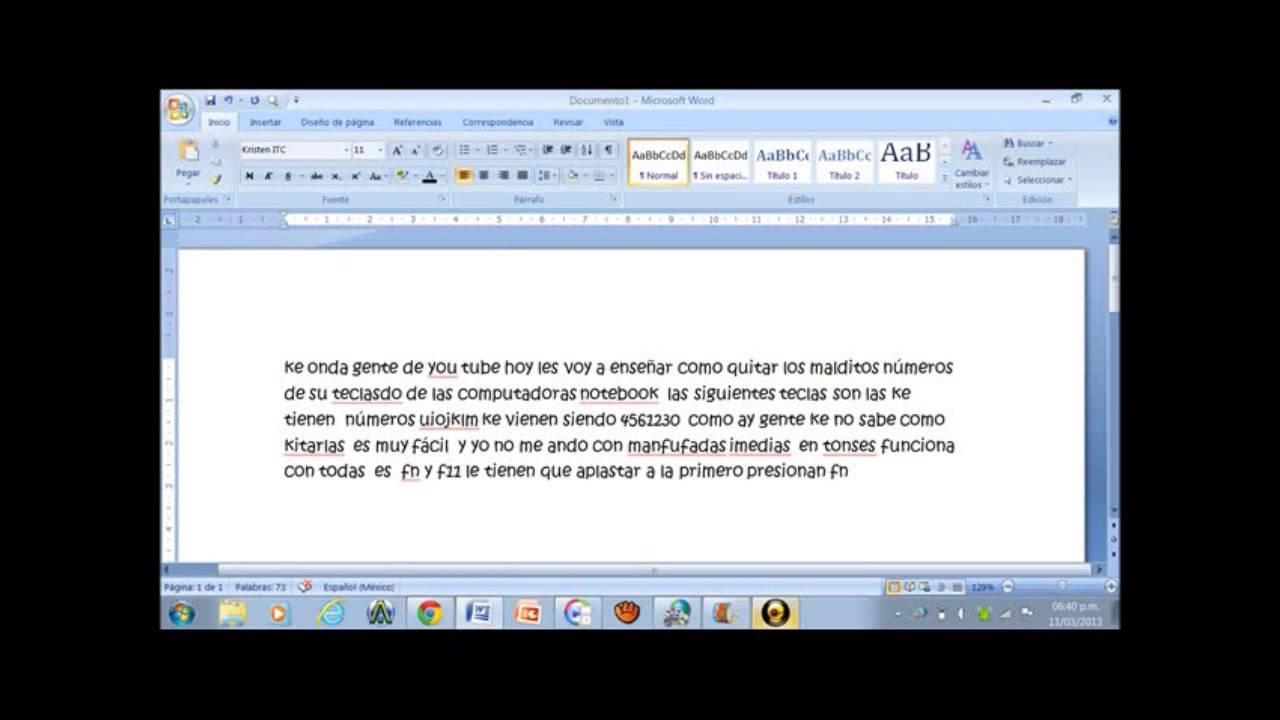 Como Desactivar Teclado Numerico De Notebook De Las Letras Uiojklm