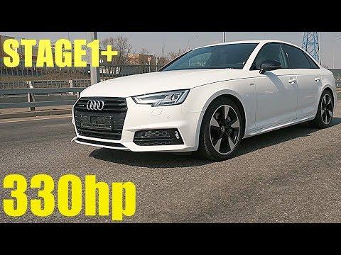 ТЕСТ ДРАЙВ AUDI A4 B9 Stage1 330HP KIA STINGER V6 не нужен