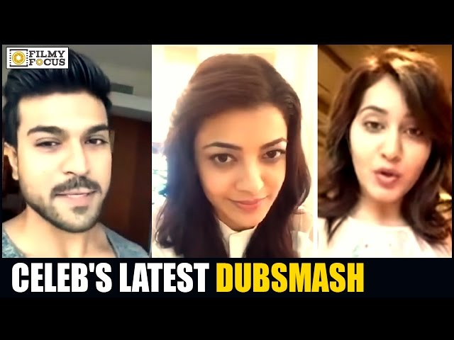 Celebrities Latest Dubsmash Videos - Filmyfocus.com