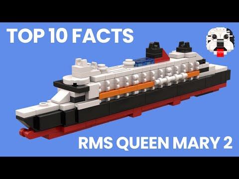 Top 10 Facts - RMS Queen Mary 2 Ocean Liner