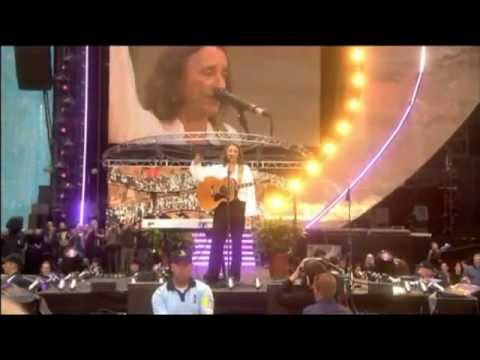 Give a Little Bit Princess Di Concert Roger Hodgson - Supertramp co-founder