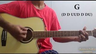 Iktara (Wake Up Sid) - Guitar Chords Lesson+Cover, Strumming Pattern, Progressions