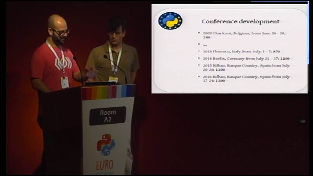 Image from EuroPython 2017: Help us build the next edition!