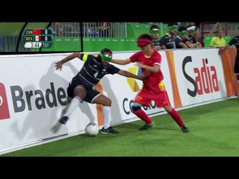 Football 5-a-side | China vs Mexico | Preliminary Match 8 | Rio 2016 Paralympic Games