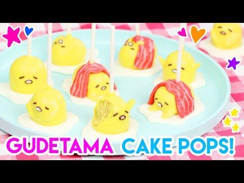 How to Make Gudetama Cake Pops!