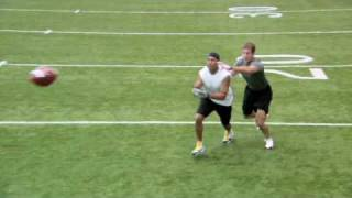 How to run a Curl Route (hines ward)