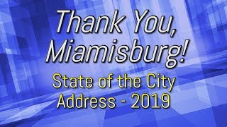 Miamisburg 2019 State of City Address: