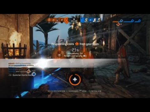 For Honor Bad Round Monk