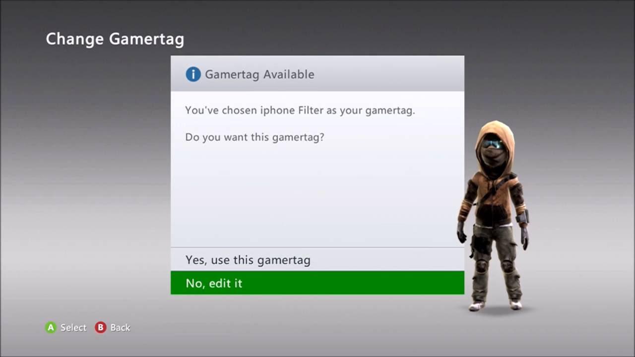 Untaken  Letter Gamertags