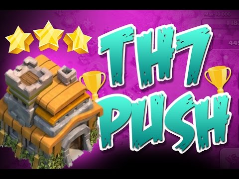 Clash of Clans  :: Townhall 7 Trophy Push :: Masters League?
