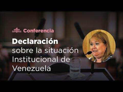 Susana Malcorra brindó una conferencia de prensa