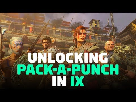 Call Of Duty: Black Ops 4 - How to Unlock Pack-a-Punch in IX