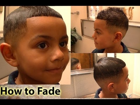 How To Hair Cut : How to Fade - Tutorial For Cutting Hair at Home - YouTube