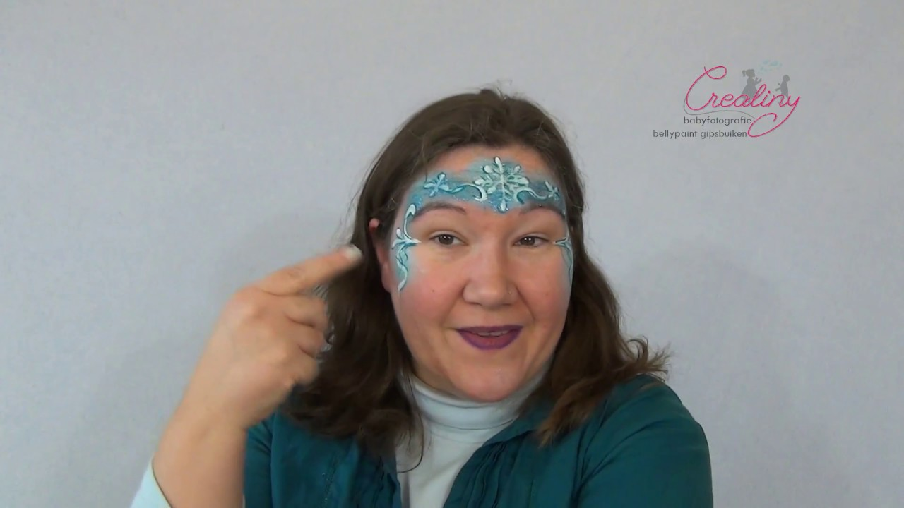 Betere ijsprinses schminken stap voor stap - YouTube XU-18