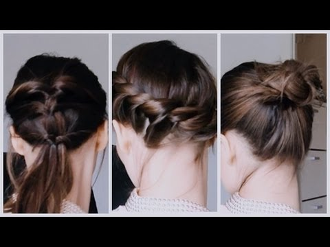 Hair Peinados Faciles Para El Pelo Corto Youtube