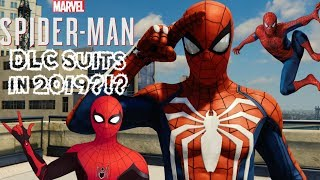 Spider-Man PS4 DLC Suits in 2019?!? Movie Suit DLC Pack Possibility & Silver Lining Suit Wishlist!!!