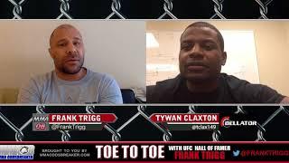 "Frank Trigg interviews Bellator prospect Tywan ""Speedy"" Claxton"