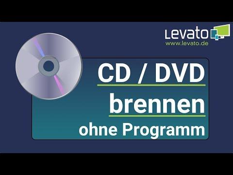 Levato.de | CD oder DVD brennen mit Windows 10 ohne Programm