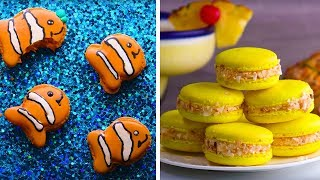 Video Animal Macaroons | How To Make Macarons | Homemade Easy Dessert Recipes By So Yummy download MP3, 3GP, MP4, WEBM, AVI, FLV Maret 2018